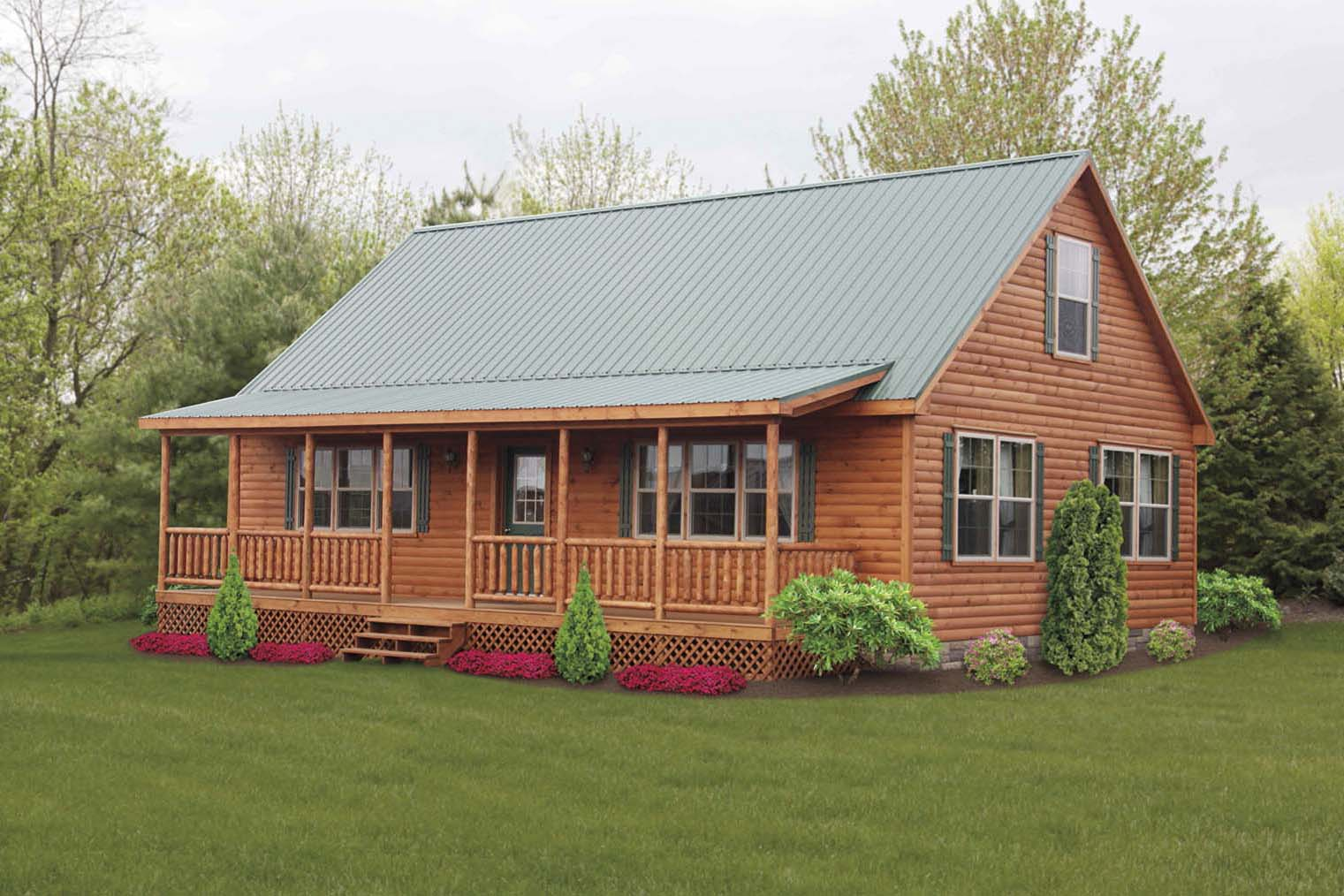 Cabin Style Modular Homes Design And Ideas