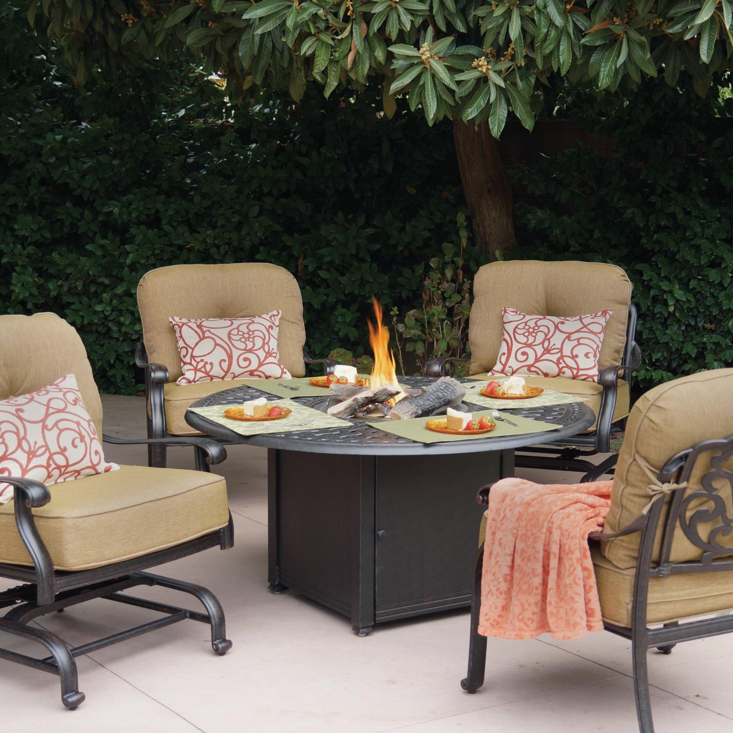 patio fire pit Design and Ideas