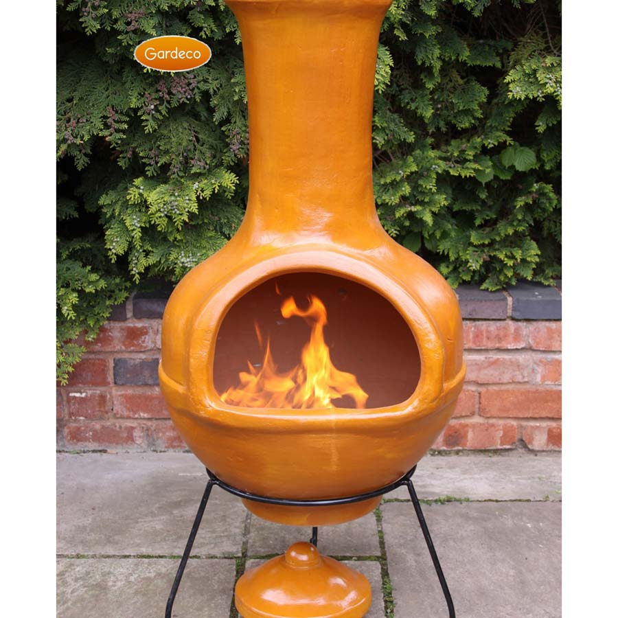 Fire Clay Rock : Ceramic fire pit balls design and ideas