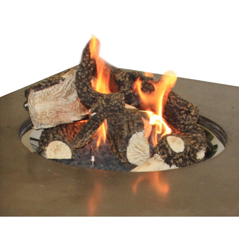 Outdoor Ceramic Fireplace Logs Fireplaces