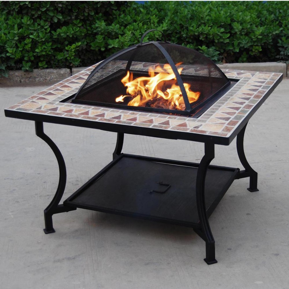 ceramic fire pit table  photo - 1
