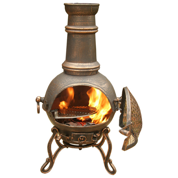 chiminea fire pit care  photo - 1