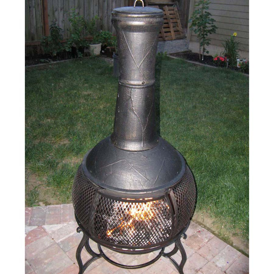 chiminea fire pit designs