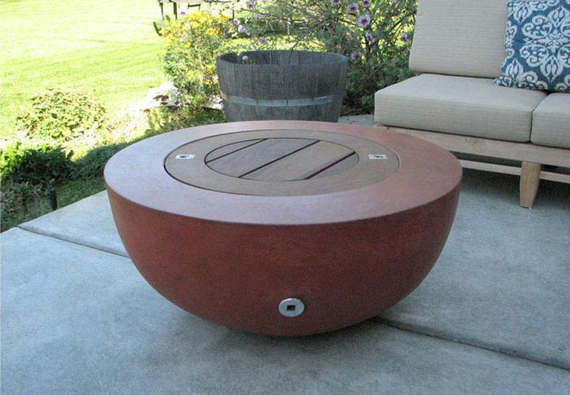 Fire Clay Rock : Stone fire pits home depot design and ideas