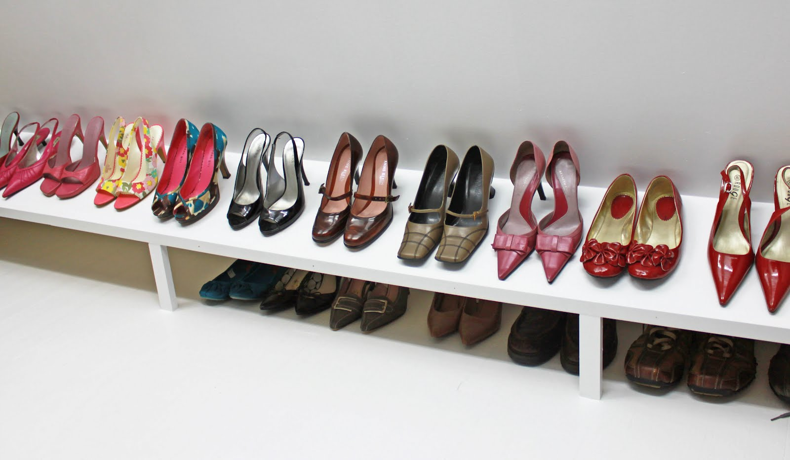 Personable Closet Shoe Rack Dimensions Roselawnlutheran - Ideas for shoe storage in closet