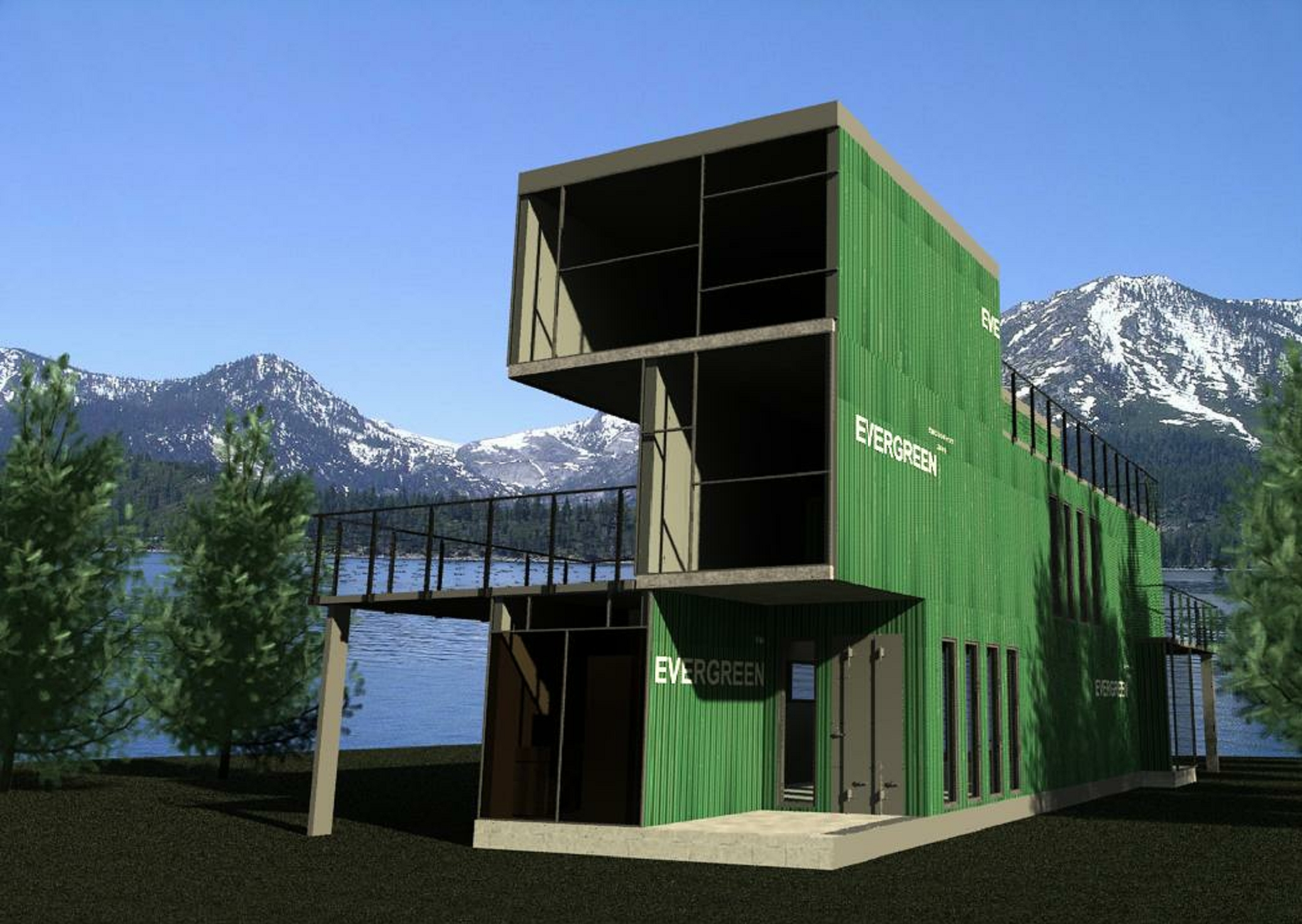 Container home design and construction