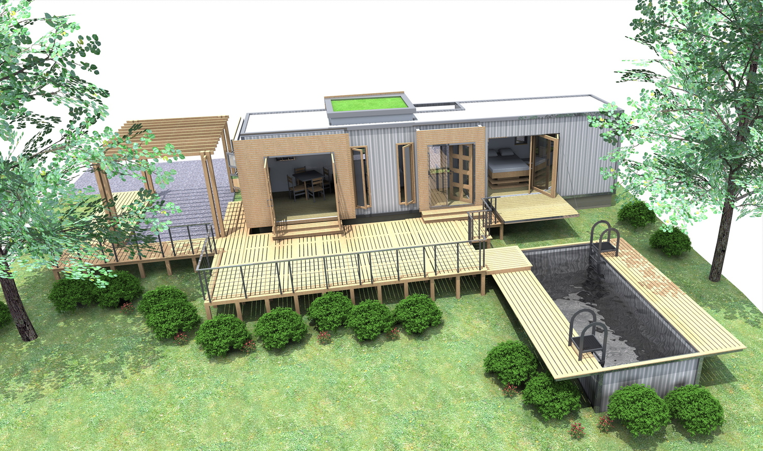 Container Home Designs