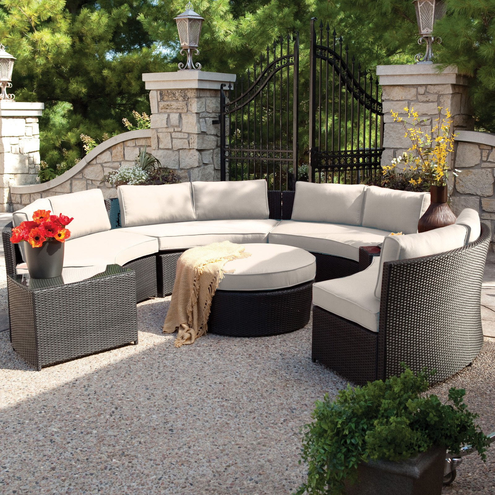 Conversation Patio Sets Outdoor Sectionals Photo   2