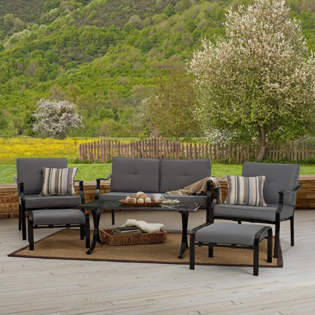 cast aluminum patio conversation sets Design and Ideas