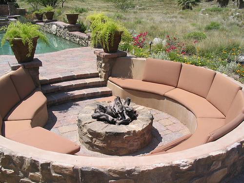 Beau Cool Backyard Fire Pits Photo   2