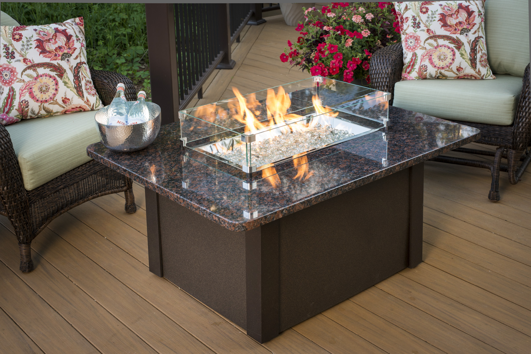 Fire Pit Table Set Canada