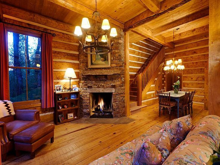 cozy log cabin interiors » Design and Ideas