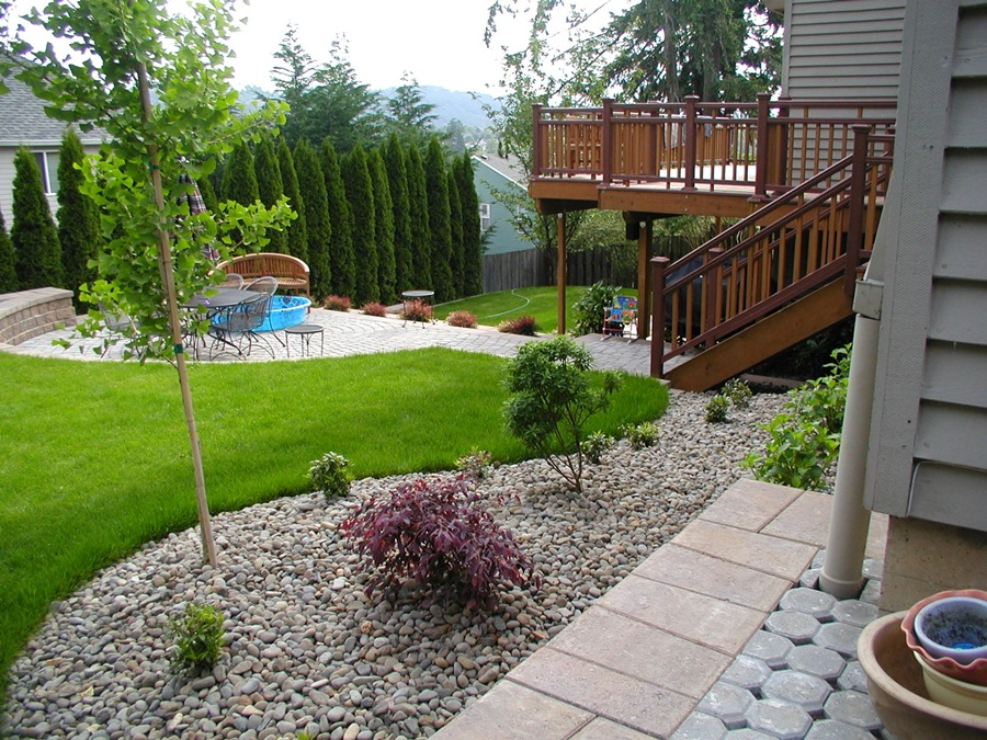 Landscape Design For Small Backyards Creative Delectable Creative Landscaping Ideas  Home Design Design Decoration