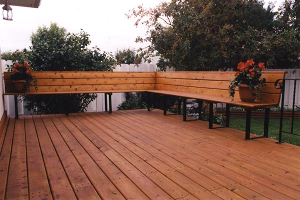 Home Depot Metal Decking : Deck bench brackets at home depot design and ideas