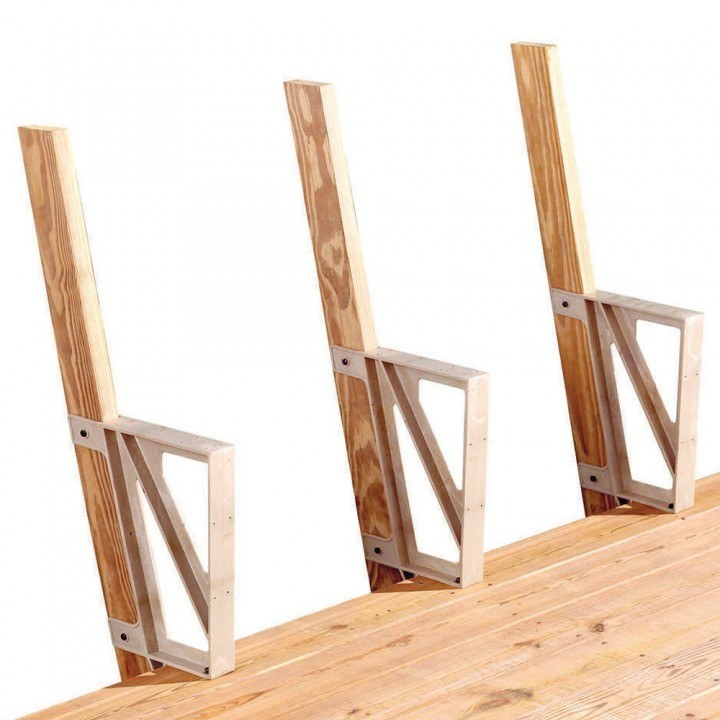 Deck Bench Bracket Design And Ideas