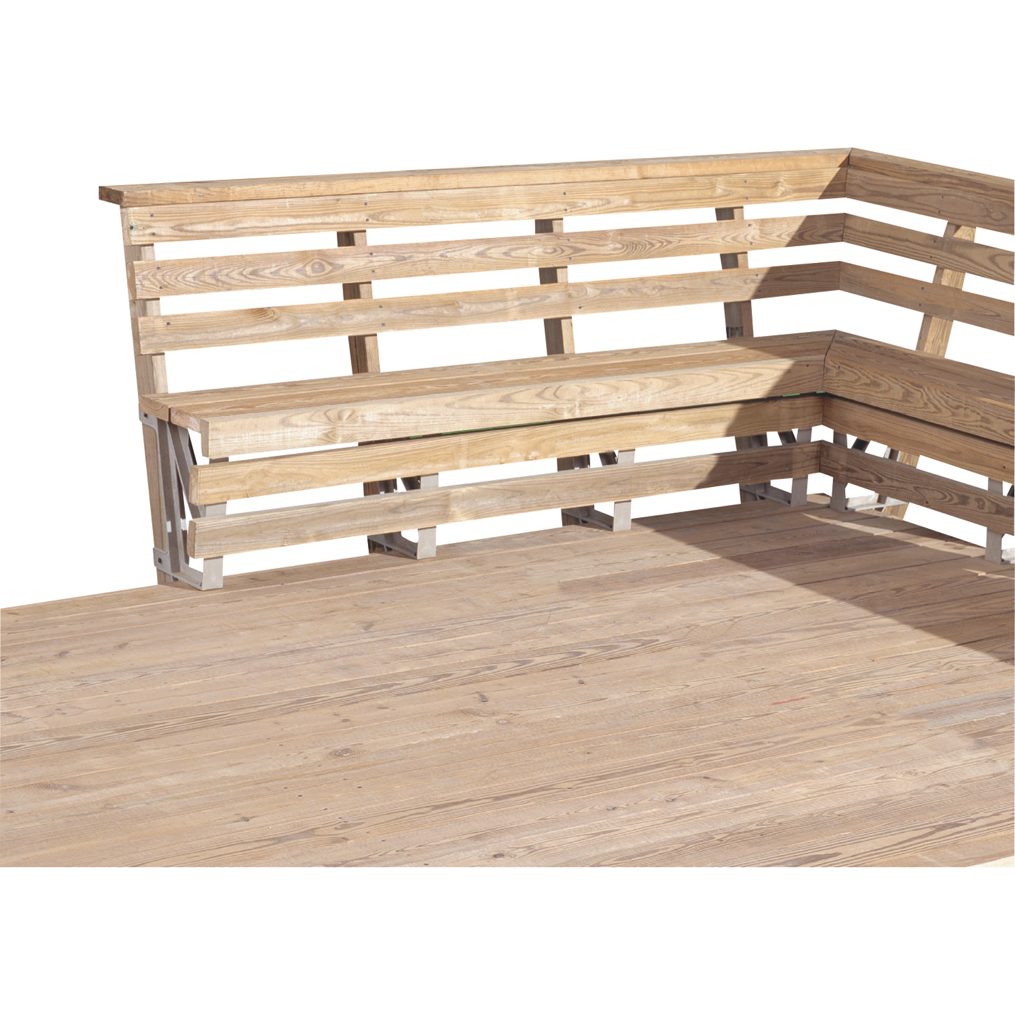 Deck Bench Railing Brackets