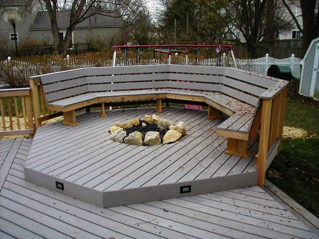 Small Deck Fire Pit 187 Design And Ideas