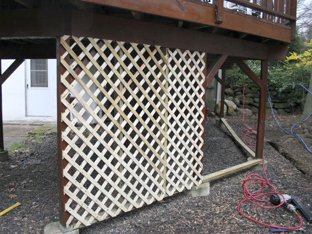 Deck Lattice Install 187 Design And Ideas
