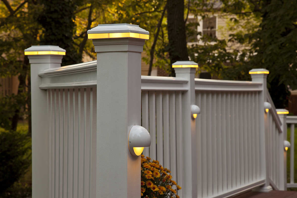 Deck Post Lights For Better Patio Lighting