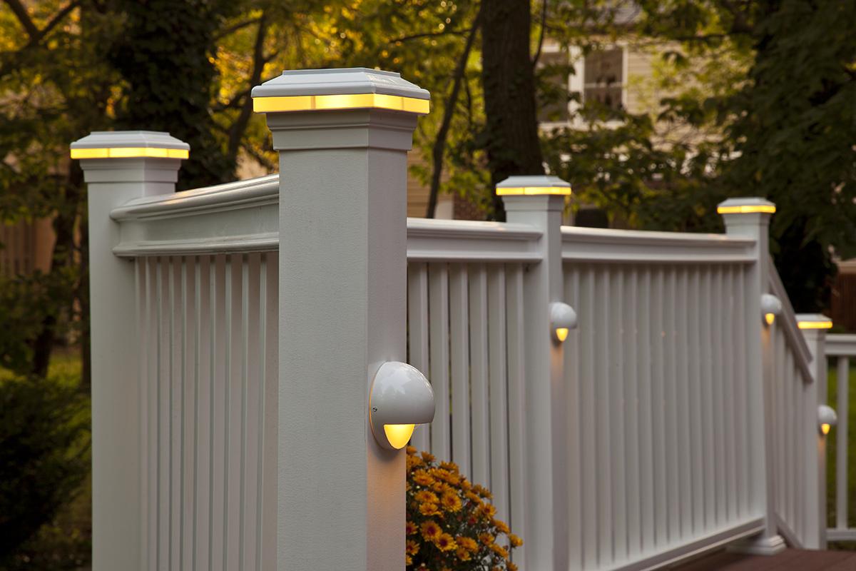 deck post lights outdoor design and ideas. Black Bedroom Furniture Sets. Home Design Ideas
