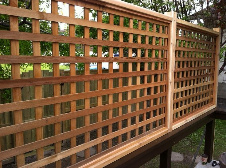 Deck Privacy Screen Lattice 187 Design And Ideas