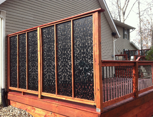 Beau Deck Privacy Screen Panels