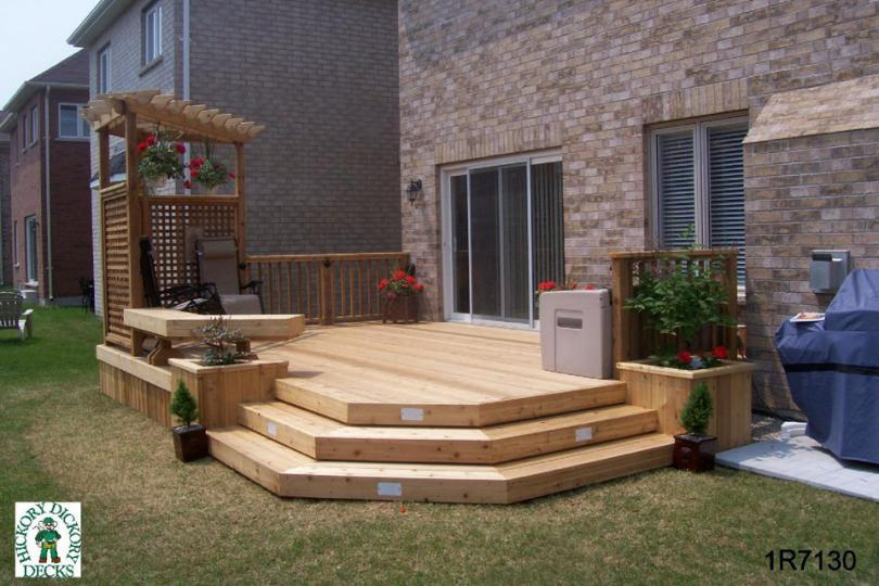 deck privacy screen plans