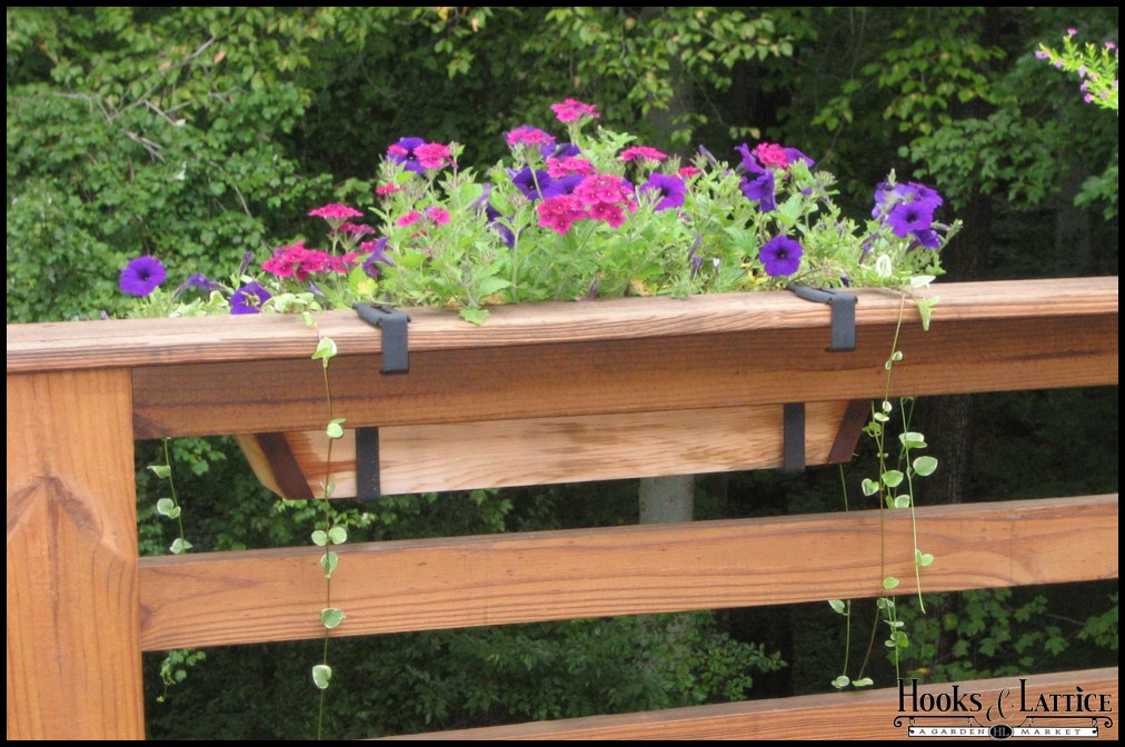 Deck rail planter canadian tire design and ideas - Deck rail planters lowes ...