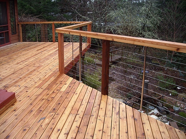 deck railing wire cable » Design and Ideas