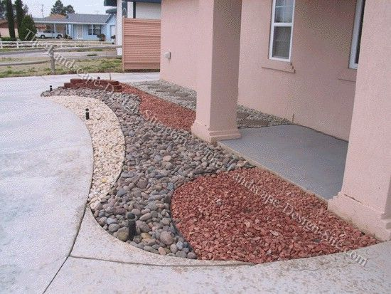 Decorative Garden Rocks : Desert rock landscaping ideas design and
