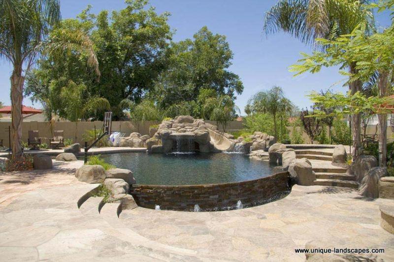 desert landscaping backyard Design and Ideas
