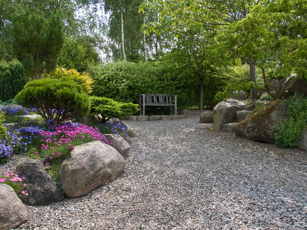 Designing Your Patio with Rock Landscaping Ideas  photo - 2