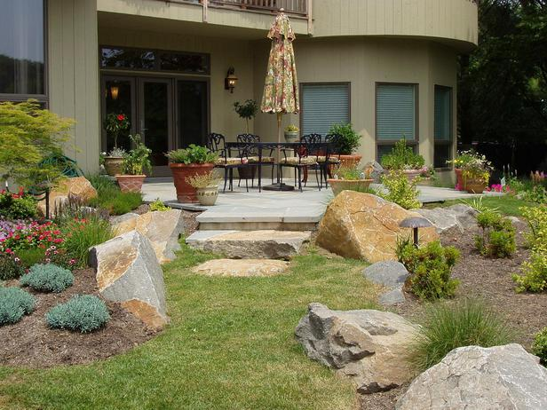 Designing Your Patio with Rock Landscaping Ideas  photo - 1