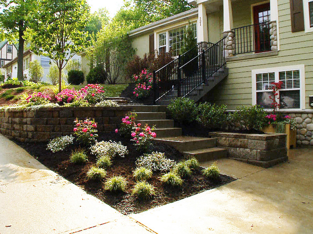 diy landscaping a slope  photo - 3