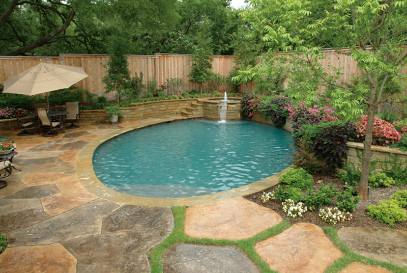 diy landscaping around pool Design and Ideas