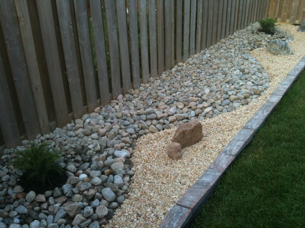 diy landscaping rocks