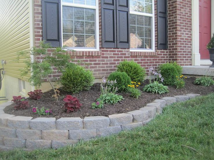 diy landscaping wall