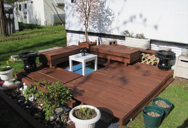 Diy Patio Deck Ideas Photo   2