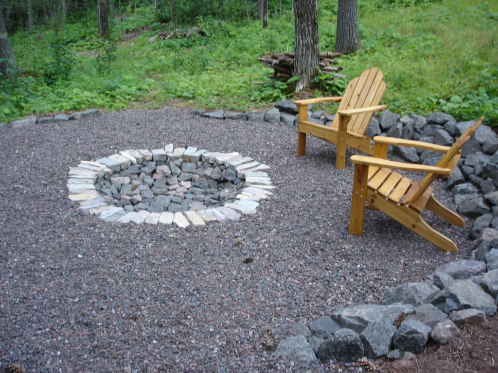Diy Patio Fire Pit Ideas  photo - 1