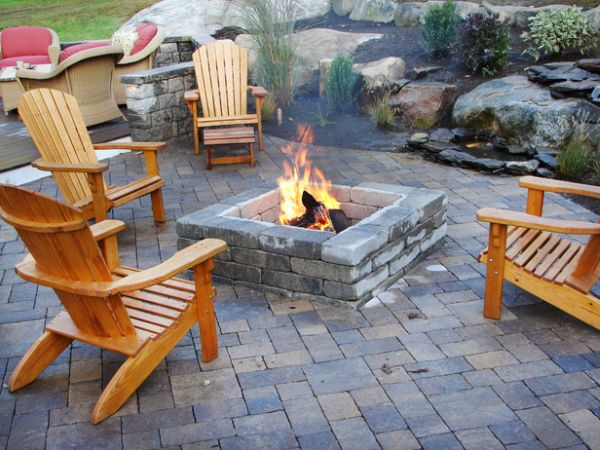 Diy Patio Fire Pit Ideas  photo - 2