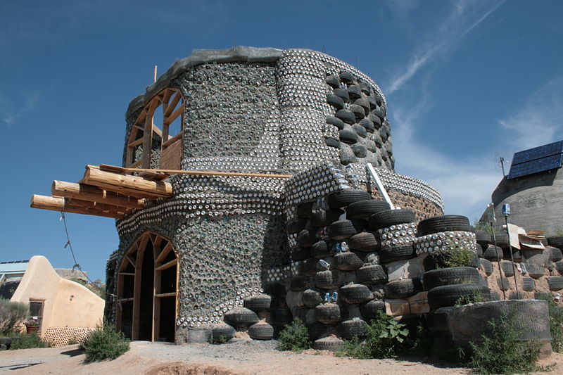 Eco Earthship House