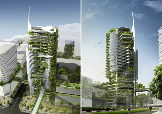 Eco Friendly Sky Scraper