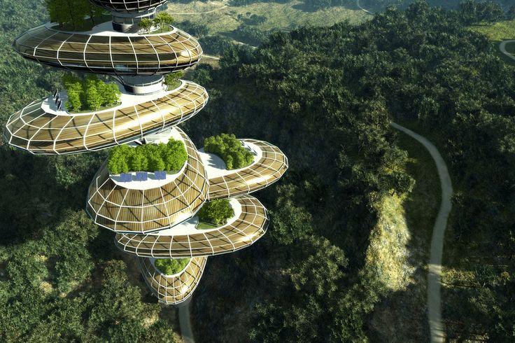 Eco Futuristic House 187 Design And Ideas