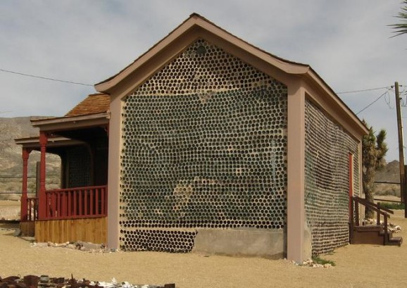 Eco Glass Bottle House