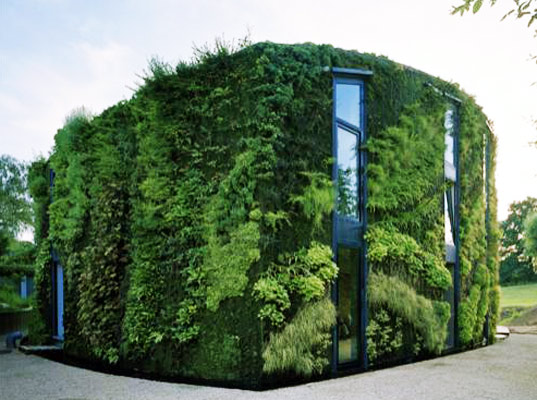 Eco Green Wrapped House