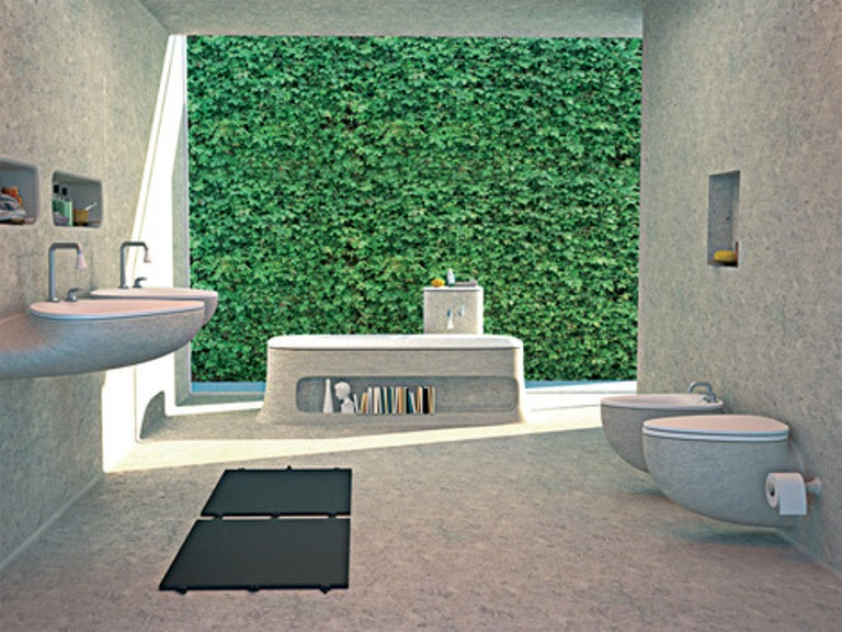 Eco House Bathroom Elements