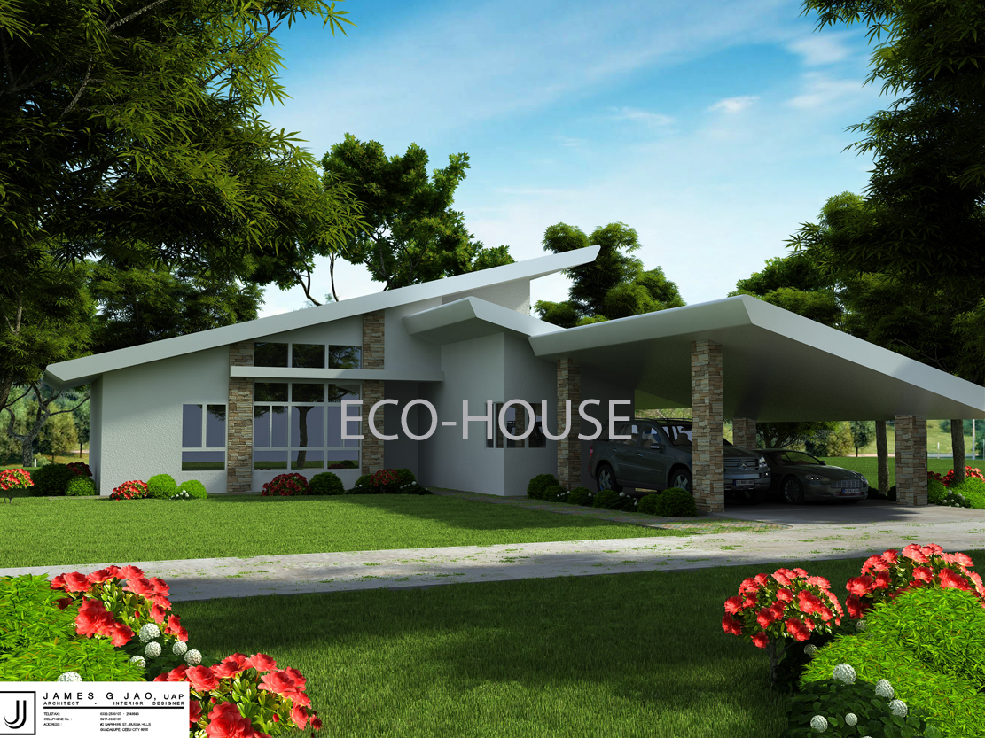 Eco House C  Design And Ideas - Eco home design