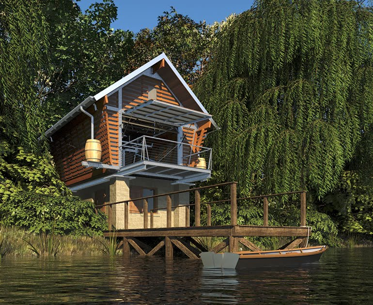Eco Lake House