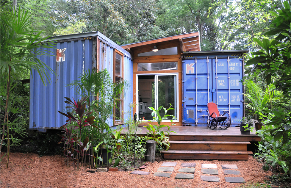 Eco Recycled Ship Container House