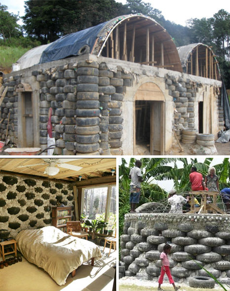 Eco Recycled Tire House